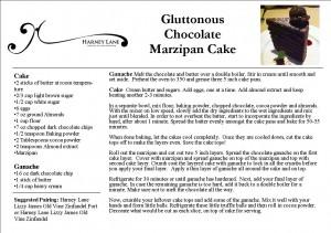 Gluttonous Chocolate Cake